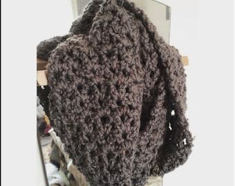 Handmade Crochet Circle/ Infinity Scarf