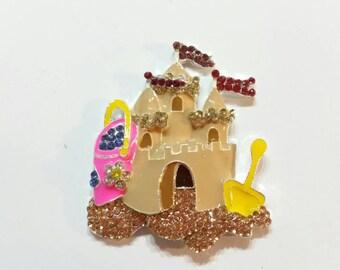 Sand Castle Needle Minder