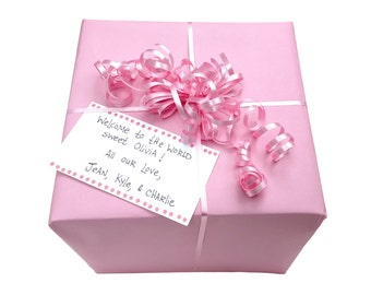 Gift Wrap your piggy bank order