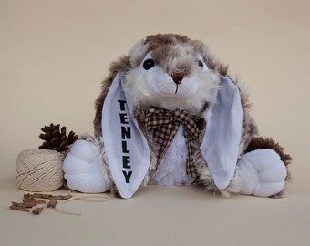 Personalized Bunny : Personalized Stuffed Animal