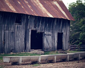 Rustic Old Barn Canvas Gallery Wrap; Country; Western; Print