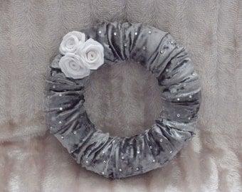 Stunning Crushed Velvet Wreath