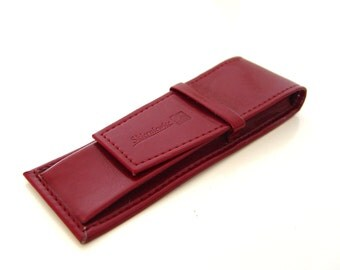 Leather Pen Case.