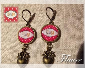 """Earrings """"Love"""""""