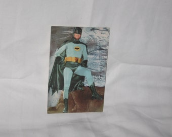 vintage 1967 national periodicals pub.  batman postcard   free shipping in the usa!!