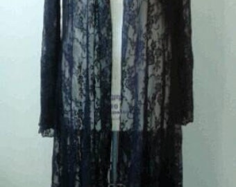 Black Lace Cover Up.