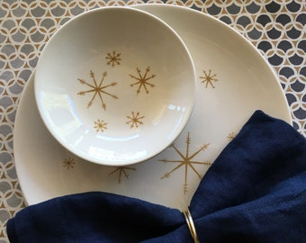 Star Glow Atomic Dinner Plate