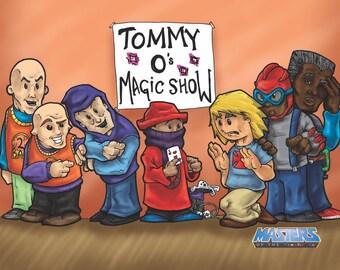 Magic show print 8x10