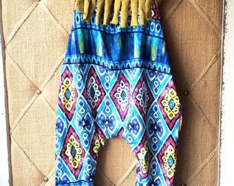 Southwestern print cotton baby girl/ toddler jumpsuit
