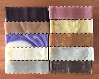 FOUR BARS Organic Cold Process Soap