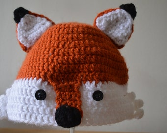 Crochet Fantastic Fox Hat