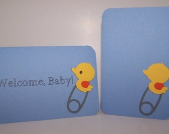 baby shower invitations, shower invite, Duck Invitations, welcome baby, Grand Opening Sale