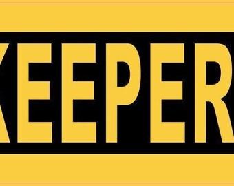 10''x3'' Beekeeper Bumper Sticker Car Decal Stickers Window Decals(b-10-45)