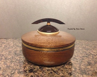 "Pet Urn - Lidded Hollow Form - ""Zen Collection"" - Urn for Ashes"