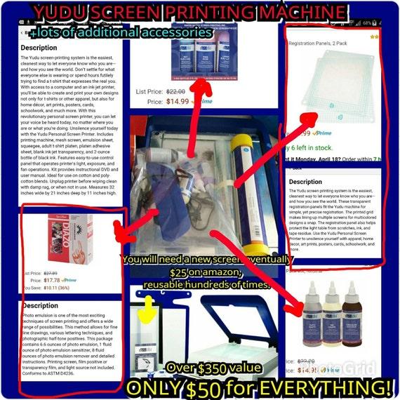 yudu screen printing machine reviews
