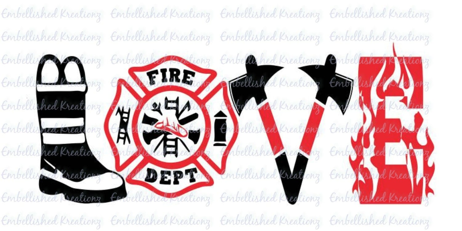 firefighter  fire and rescue  fire wife   love Walking Fireman Silhouette SVG Fireman Outline SVG