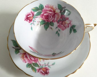 Paragon China Tea Cup & Saucer Teacup Set