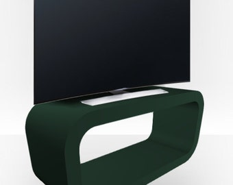 Olive Green Matt TV Stand - Hooptangle