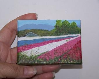 Lompoc Flower Fields Original landscape painting