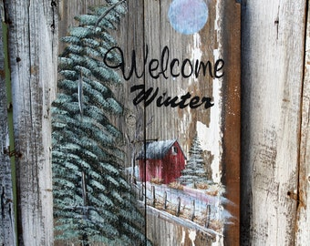 Welcome Winter pattern packet#01