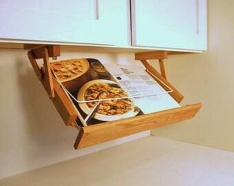 Under Cabinet Cookbook Holder from Ultimate Kitchen Storage