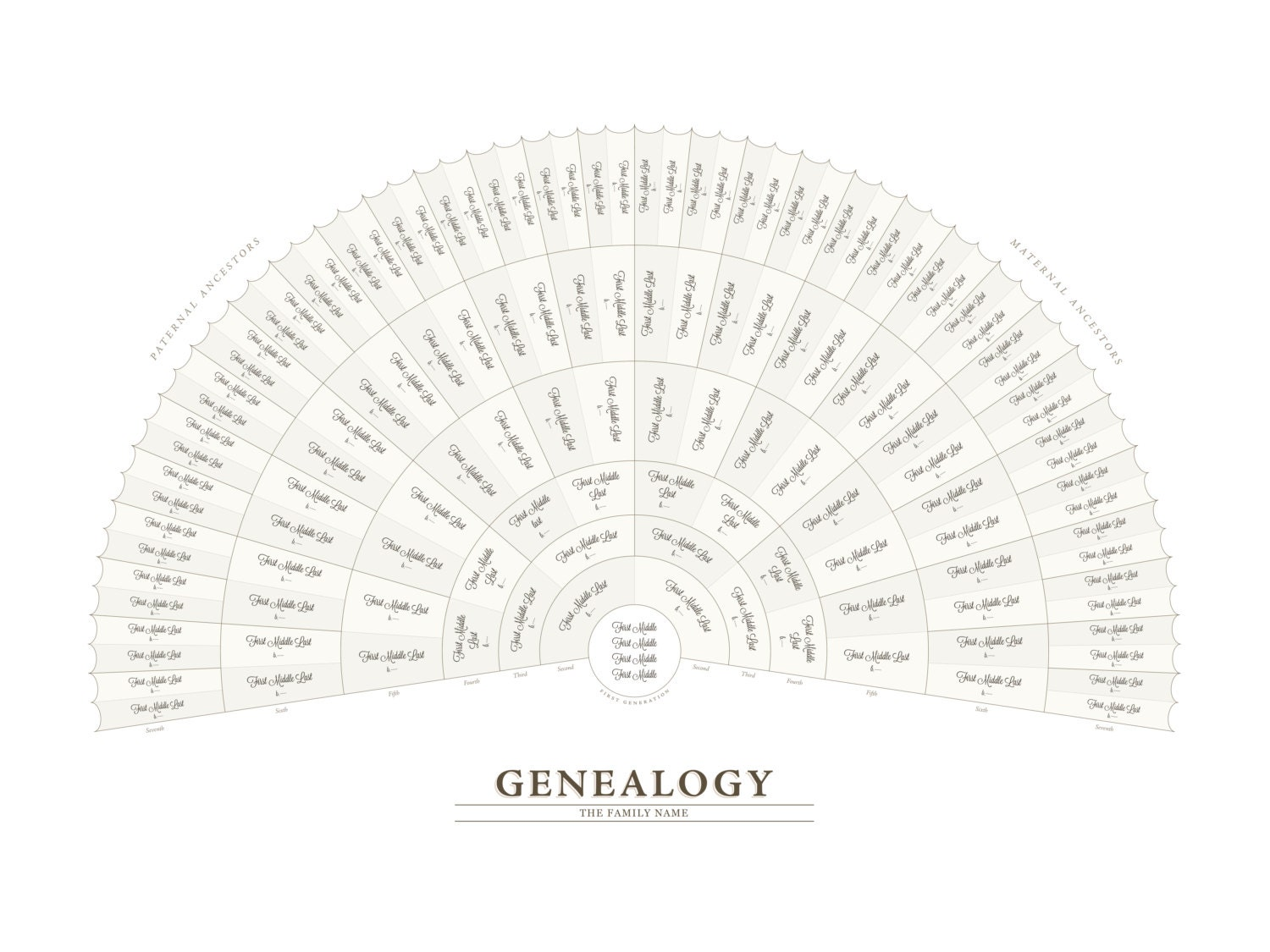 genealogy fan chart adobe illustrator template. Black Bedroom Furniture Sets. Home Design Ideas