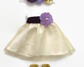 "18"" Doll Clothes, Doll Clothes 18"", Sweetheart Neckline with Custom Sash, Gifts for Girls, Gifts for Babies, Stocking Stuffers for Girls"
