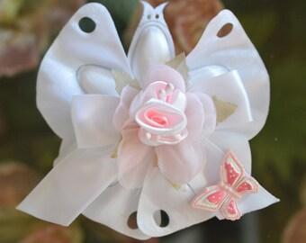 Confetti Flowers Almond  Flowers Baptism Christening Baby Shower Favors  Bomboniere butterfly