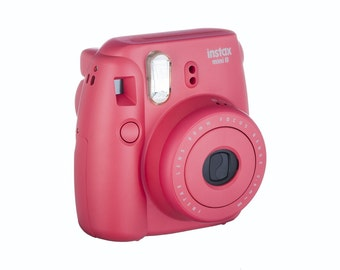 Fujifilm Instax Mini 8 Instant Film Camera (Please pick your Favorite Color ) We have all colores that shows in the pictures