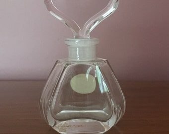 Vtg. Bleikristall German Perfume Bottle