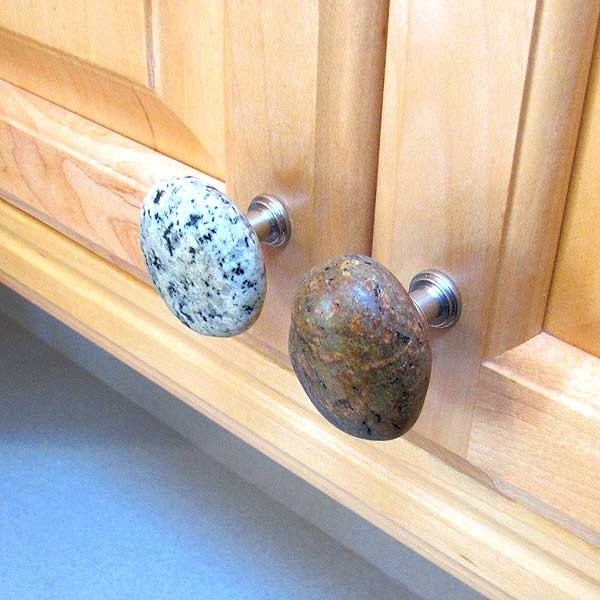 Beach Stone Cabinet Knobs Amp Drawer Pulls