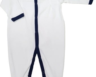 Auburn Tigers Baby Pleated Playsuit