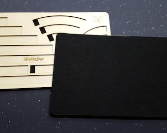 Deluxe X-Wing Miniatures Template Tray