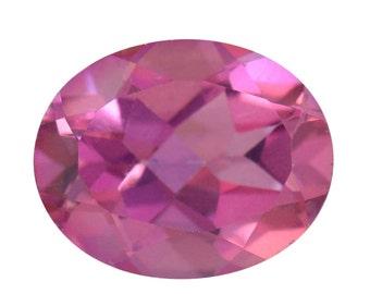 Fantabulous Pink Quartz Loose Gemstone Oval Cut 1A Quality 10x8mm TGW 2.00 cts.