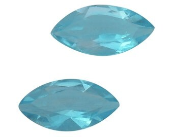 Paraiba Apatite Loose Set of 2 Gemstones Marquise Cut 1A Quality 6x3mm TGW 0.40 cts.