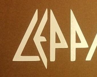Def Leppard Vinyl Sticker