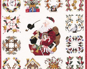 Baltimore Christmas Quilt Pattern by Pearl Pereira