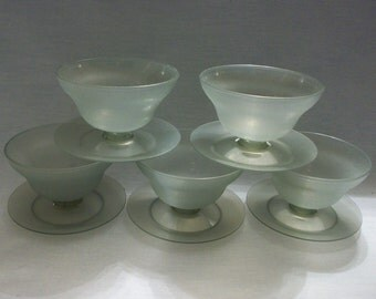 Vintage Tupperware Small Parfait/Jello Cups, Tupperware, Gray Tupperware Dessert Cups, Fruit Cups, Pudding Cups