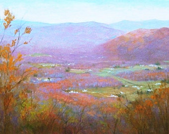 The Blue Ridge mountains in November