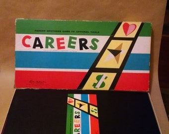1958 Parker Brothers Careers Board Game