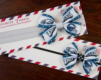 Philadelphia Eagles Pinwheel Headband.