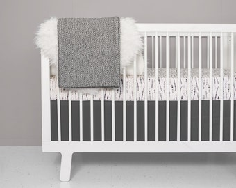 modern crib bedding set feather blush modern nursery 100 cotton crib sheet