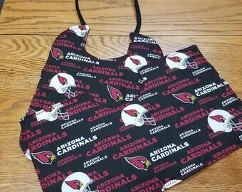 Arizona Cardinals Burp and Bib Set