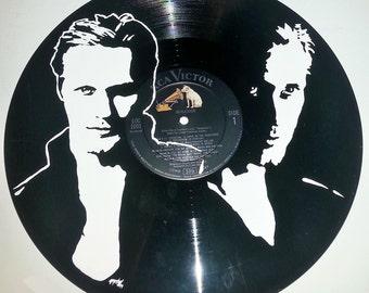 vampire Eric Northman Alexander Skarsgard hand painted vinyl record