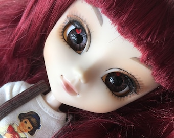 OOAK SA Hand-painted Handmade Pullip custom eye chips - B1601