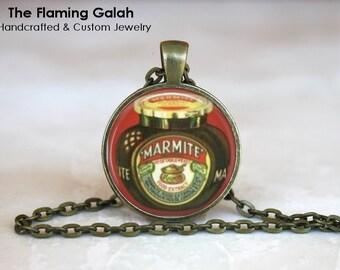 MARMITE Pendant • Memorabilia • Vintage Advertising • Vegemite • Gift Under 20 • Made in Australia (P0835)