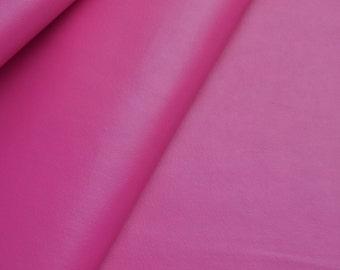 1/2 yard 0.7mm Fuschia Leather Fabric,Solid Vinyl Leather fabric,faux leather fabric (#101)