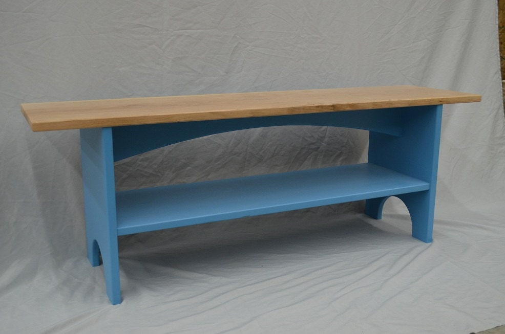 Sitting Bench Storage Bench Entryway Bench With Shelf In