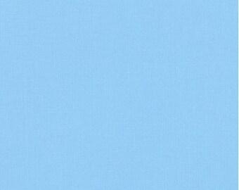 Lake Blue Cotton Fabric by Robert Kaufman, Lake Blue