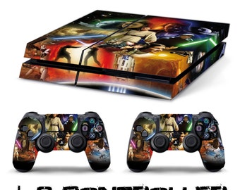 Star wars + 2 SKIN decal sticker controller PS4 playstation 4 sony